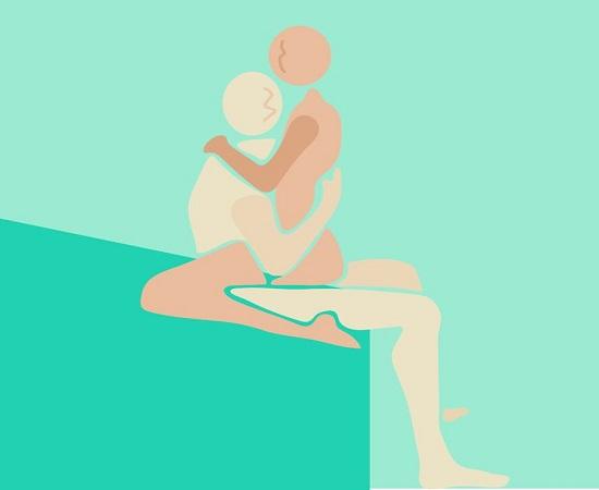 آمیزش نشسته در آموزش رابطه زناشویی