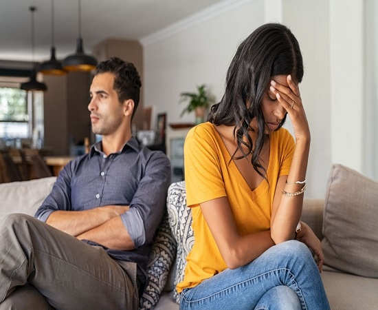 برخورد با شوهر بی توجه
